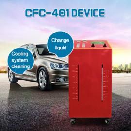 Sistema de refrigeración al ras y cambio de refrigerante para automóviles.