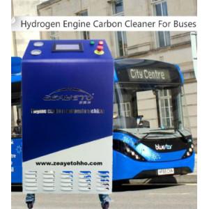 El limpiador de carbono del motor de hidrógeno para autobuses elimina el carbón del motor de manera integral