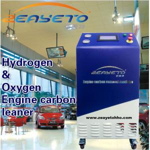 Generador de hidrógeno para la limpieza del motor del automóvil.