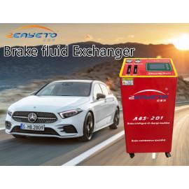 Zeayeto más barato sistema de frenos intercambiador de líquido de freno máquina de lavado