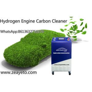 آلة التنظيف الأكسجين الهيدروجين المحمولة المحمولة محرك الكربون