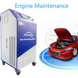 HHO Carbon Cleaning Machine 4.5 KW Hydrogen Generator Carbon Clean Machine For Sale