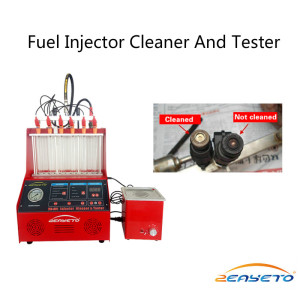 230 W Gasoline Nozzles Cleaning And Testing Machine For Cars With  Ultrasonic Cleaning Box