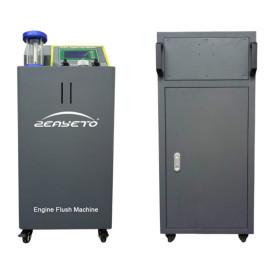 LS-302 Grey  Automotive Engine Lubrication System Cleaning Machine Engine Flush Machine