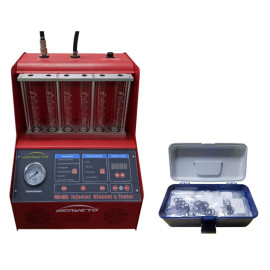 Ultrasonic Fuel Injector Cleaning Machine FIC-601 For Injector Flow Testing