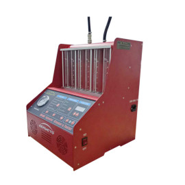 Auto Fuel Injector Cleaner With Cleaning Agent Flow Testing Ultrasonic Cleaner