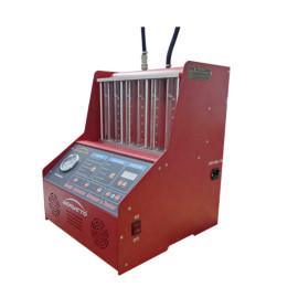 Limpiador auto del inyector de combustible con el limpiador ultrasónico de la prueba de flujo del agente de limpieza