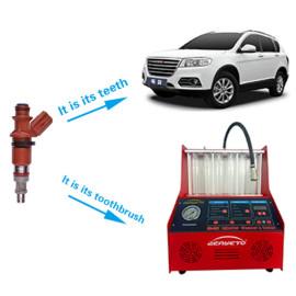 حاقن الوقود اختبار ونظافة 220 فولت لآلة اختبار التوازن الفوهات