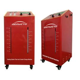DC 12V Coolant Flush For Cars Red Quick Cooling System Flushing Equipment