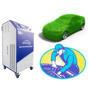 Máquina de limpieza de motores de automóviles 380V para limpieza de depósitos de carbón en motores