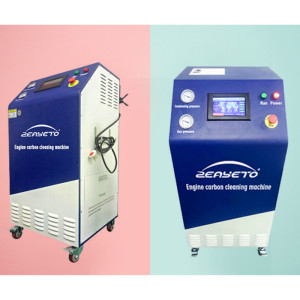 220V أوكسي الهيدروجين HHO غاز سيارة آلة التنظيف الكربوني
