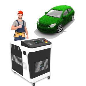 Fuel Saving Kit Decarbonisation Cleaning Machine Of Engine Car 380V Carbon Cleaner