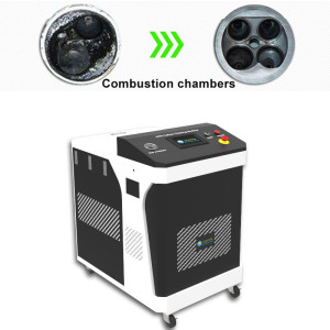 For 1000-10000cc Engine Capacity Cars Carbon Cleaning Machine With HHO Hydrogen Gas