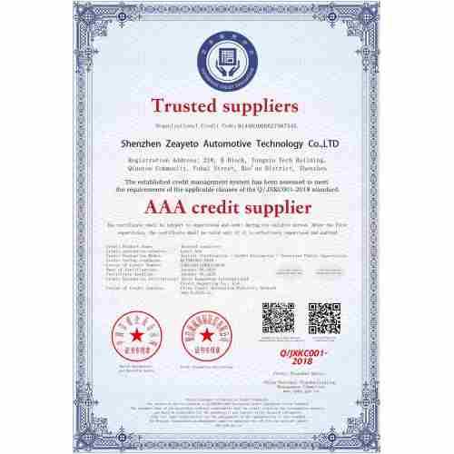 Proveedor de crédito AAA
