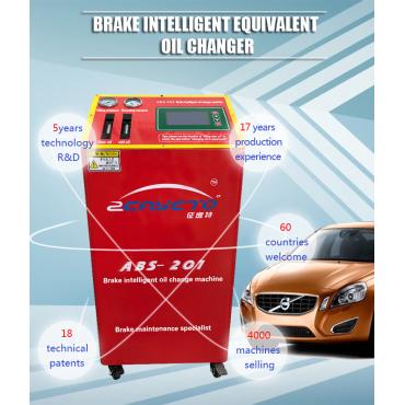 ¿Cuáles son los beneficios de usar ABS-201 para cambiar el aceite para automóviles?