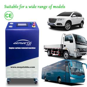 Limpiador del motor de hidrógeno del coche hho equipo de servicio de coche móvil