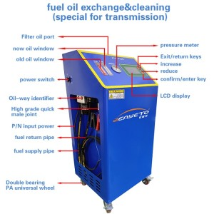 ATF-8100 automatic transmission atf oil changing machine oil exchanger