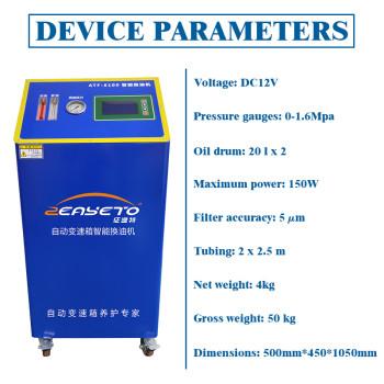 ATF-8100 atf Kit de lavado de la transmisión Máquinas de cambio de aceite de automóvil