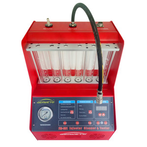 CNC-601 fuel injector clean machine injector cleaner for sale injector tester