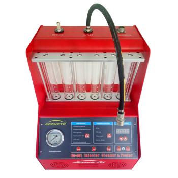 Limpiador limpio del inyector de la máquina del inyector de combustible CNC-601 en venta probador del inyector