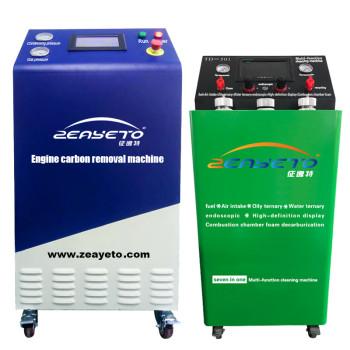 Hho máquina de soldadura de gas limpiador de carbono precio de la máquina limpiador de eliminación de hidrógeno y oxígeno