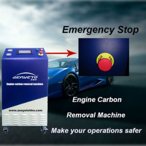 hydrogen hho gas generator cleaning machine
