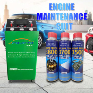 Ternary catalytic cleaning car carbon cleaner internal engine cleaner engine carbon removal products