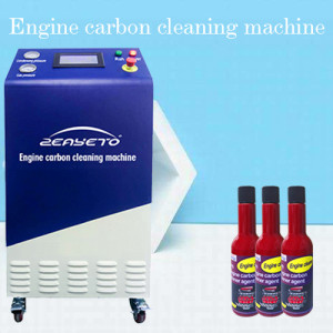 HHO Car Carbon Cleaning Machine Carbon Deposit Cleaner With LCD Display