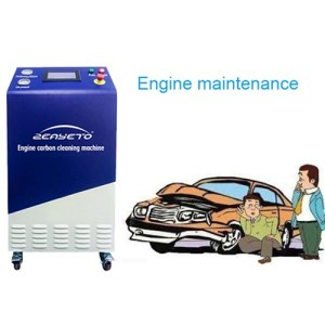 Car Engine Clean HHO Decarbonizing Machine Intake Carbon Depoist Cleaner Price Service