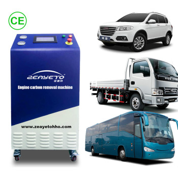 HHO Engine Carbon Cleaning Machine Remove Carbon Deposits From Engine Decarbonisation