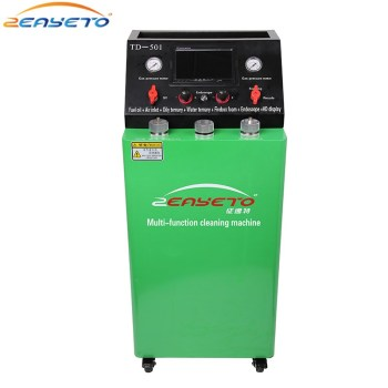 Auto intake system three-way catalytic combustion chamber fuel system Carbon cleaning machine