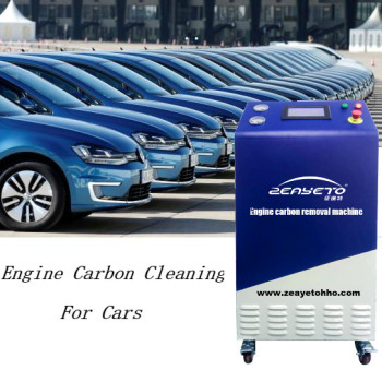 HHO engine carbon cleaning technology carbon remover hydrogen machine