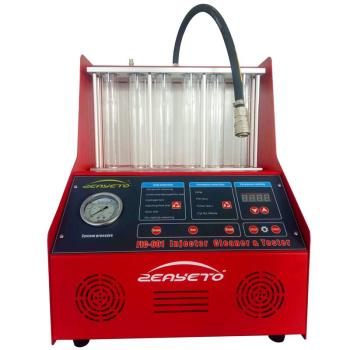Auto injector maintenance equipment fuel system cleaning machine