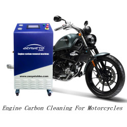 Professional brown gas carbon deposit engine carbon cleaner products for motorcycles