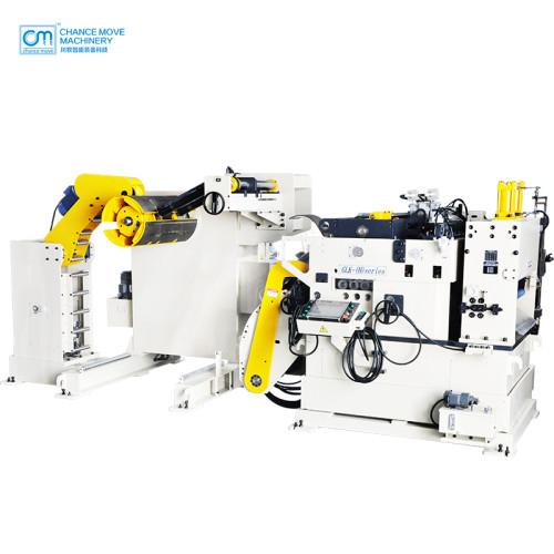 可掀开式高涨力板材专用三机一体式开卷整平送料机