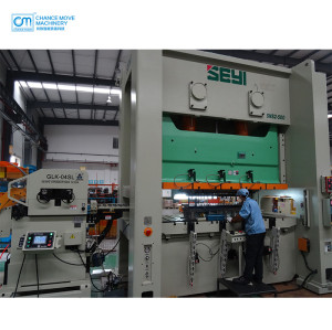 中厚板专用三机一体机伺服料架整平送料机(Special for medium plate type 3-in-1 servo decoiler straightener feeder machine)