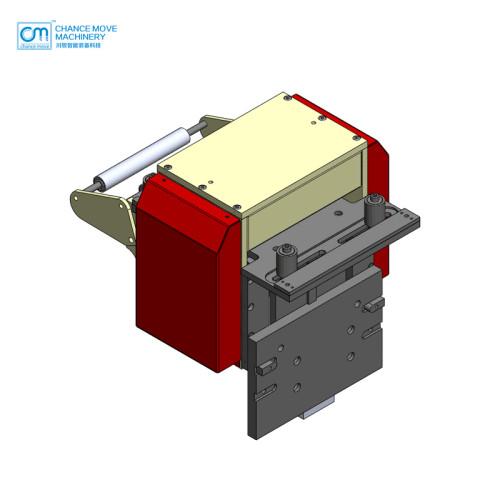 薄板伺服滚轮送料机