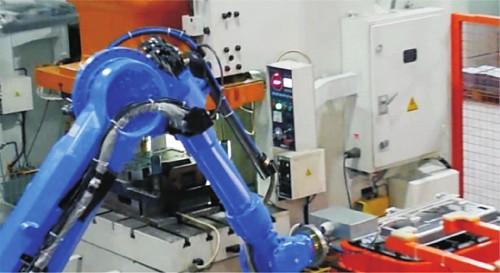 多关节机器人系统集成