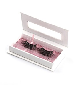 Großhandel Wimpern New Hand Made mit Custom Wimpernverpackung Pre-Designed Lash