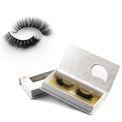 OEM Private Label Luxury Wholesale Own Brand Natural 3D Real Horse Eyelashes