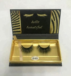 SP Wimpern Real Mink Wimpern Private Label Mink Eyelashes False Eyelash