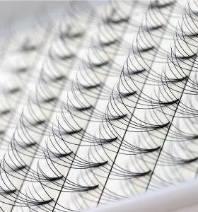 Фабричные готовые веера 4D 5D Русские Объемные ресницы Наращивание ресниц Тепловые накладные ресницы