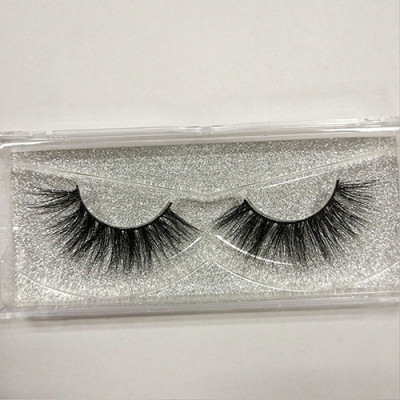 100% real mink fur false eyelashes 3D mink lashes