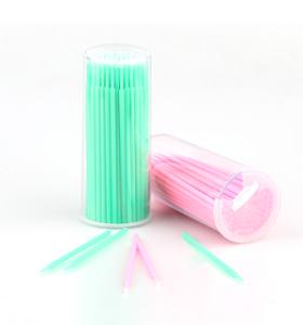 Einzelne Applikatoren Einweg-Mikrobürsten Wimpernverlängerung