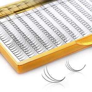 Fabrikpreis Volumen Wimpernverlängerung 0,07 mm Vorgefächerte 2D-10D-Wimpern