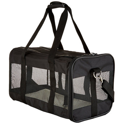 Hot Sell Black Medium Airline Approved Dog Pet Carrier