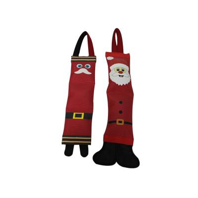 China Manufacturers Christmas Santa Claus Tug Firehose Dog Toy