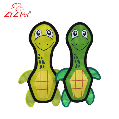 China Factory Tortoise Firehose Pet Dog Toy with Squeaky