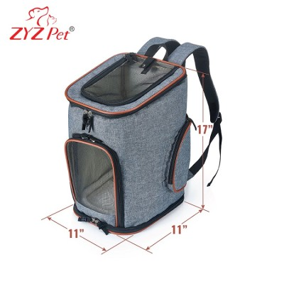 SIX IN ONE Foldable Soft Side Airline Approved Backpack Pet Carrier