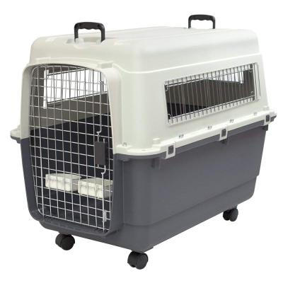 Plastic Acrylic Pet Cage Dog Kennel Cat Travel Crate